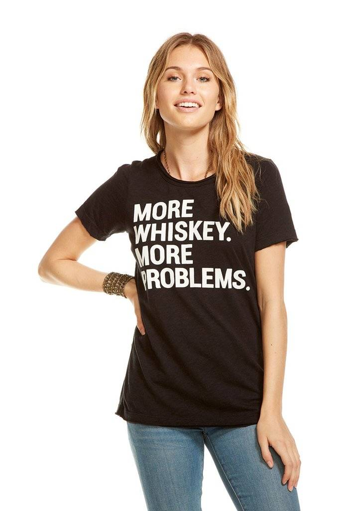 chaser chaser whiskey problems tee