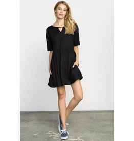 RVCA out of town babydoll dress