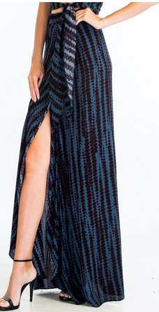 olivaceous cynthia skirt