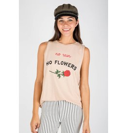 MATE the Label no rain no flowers tank