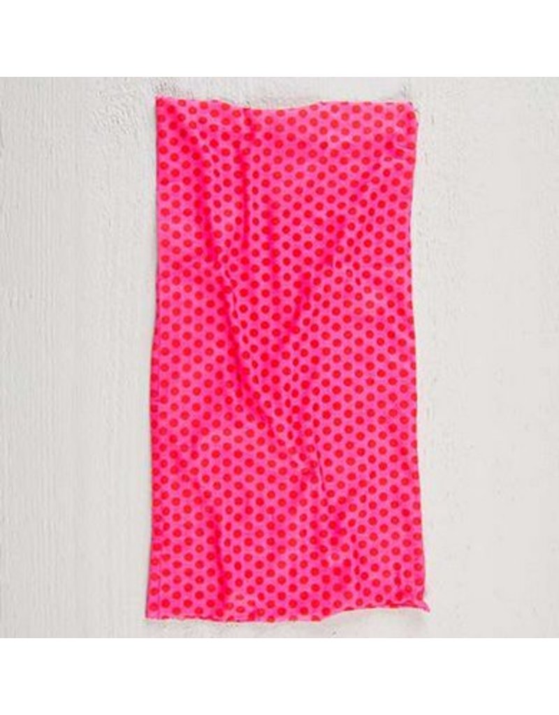 natural life natural life boho bandeau pink polka dot