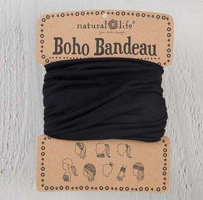 natural life natural life boho bandeau black