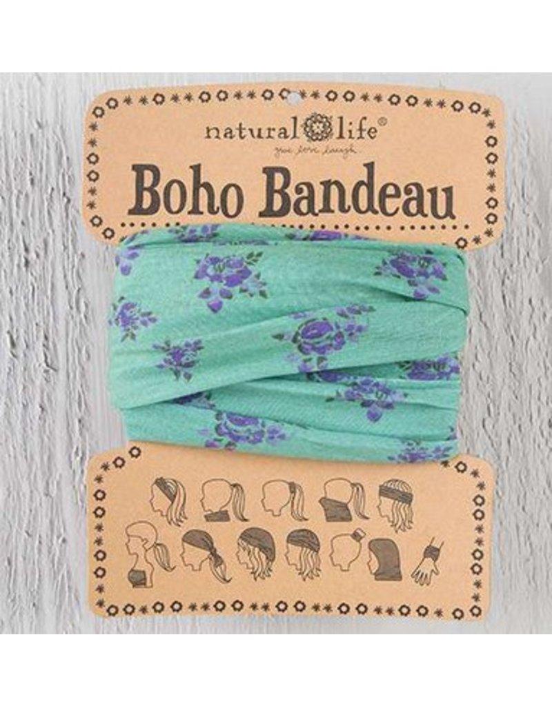 natural life natural life boho bandeau sage roses