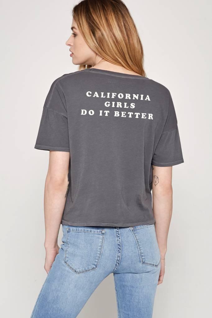 amuse society amuse society california girls tee