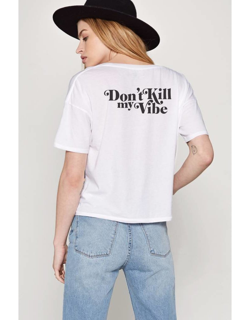 amuse society amuse society dont kill my vibe tee
