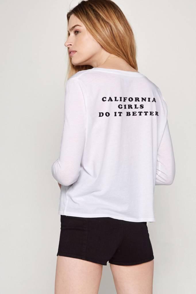 amuse society amuse society california girls l/s