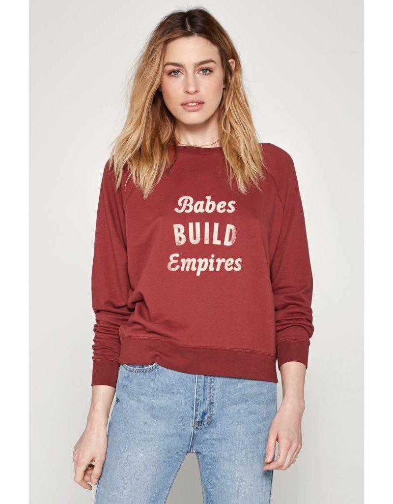 amuse society amuse society morning roast sweatshirt