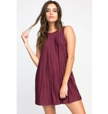 RVCA rvca tempted stripe dress
