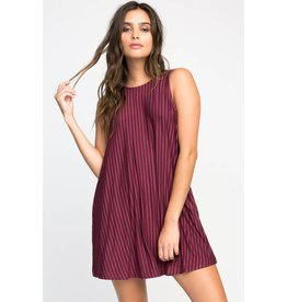 RVCA tempted stripe dress
