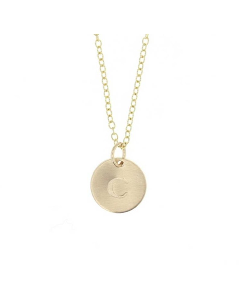 lotus jewelry studio lotus gold token necklace