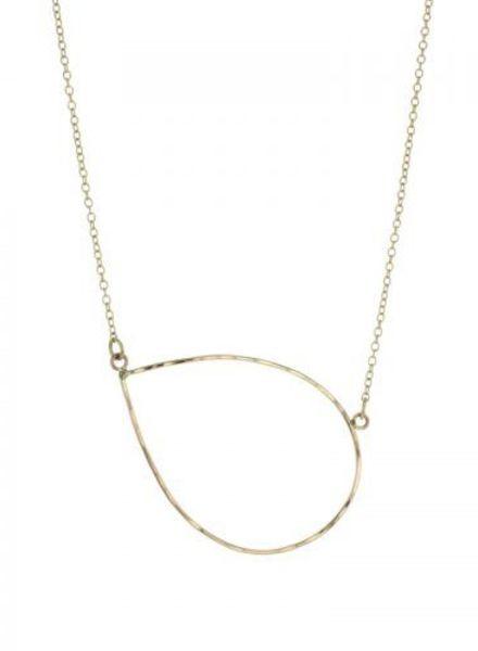 lotus jewelry studio petal necklace