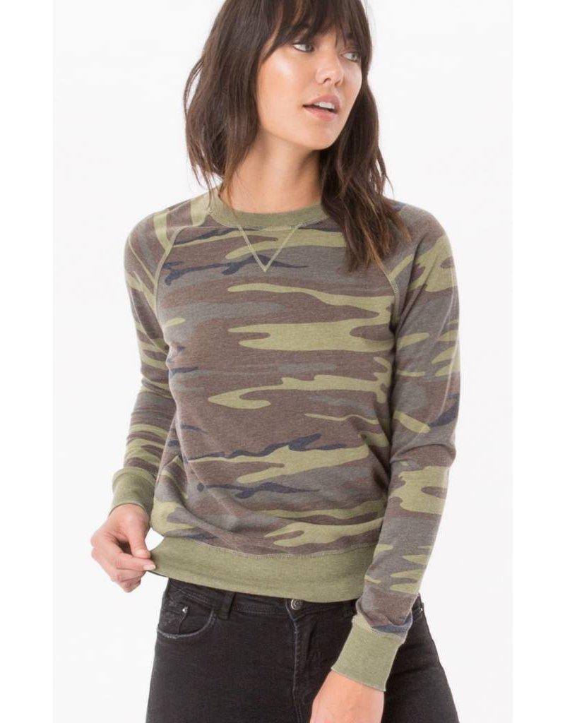 z supply z supply camo crew pullover