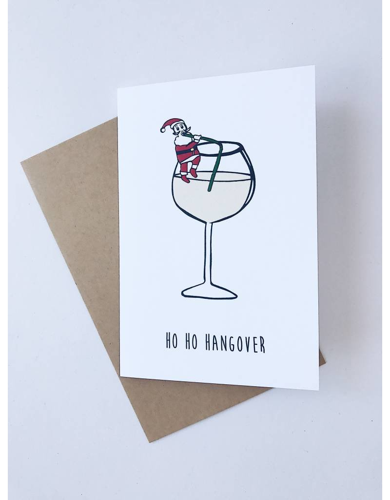 nocturnal paper nocturnal paper ho ho hangover card