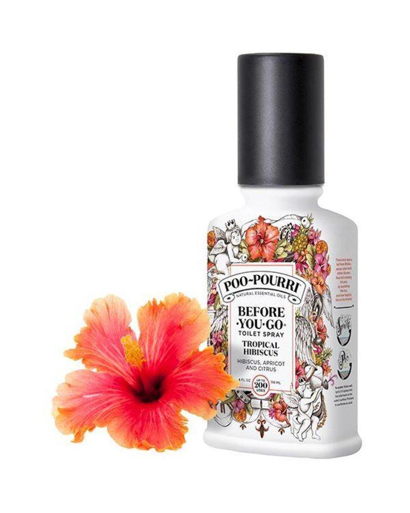 poo pourri poo pourri tropical hibiscus 2oz custom bottle