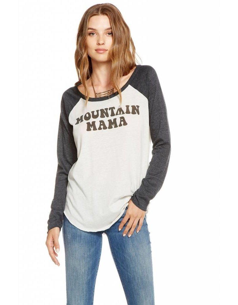 chaser chaser mountain mama l/s