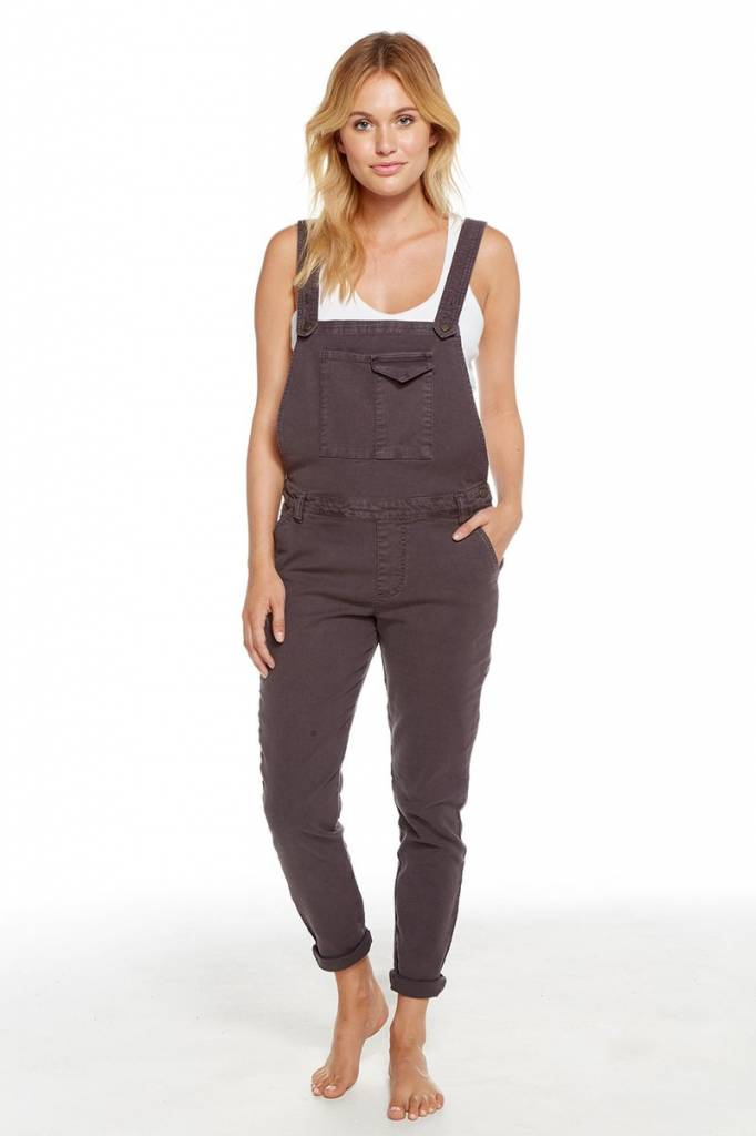 chaser chaser vintage canvas overalls