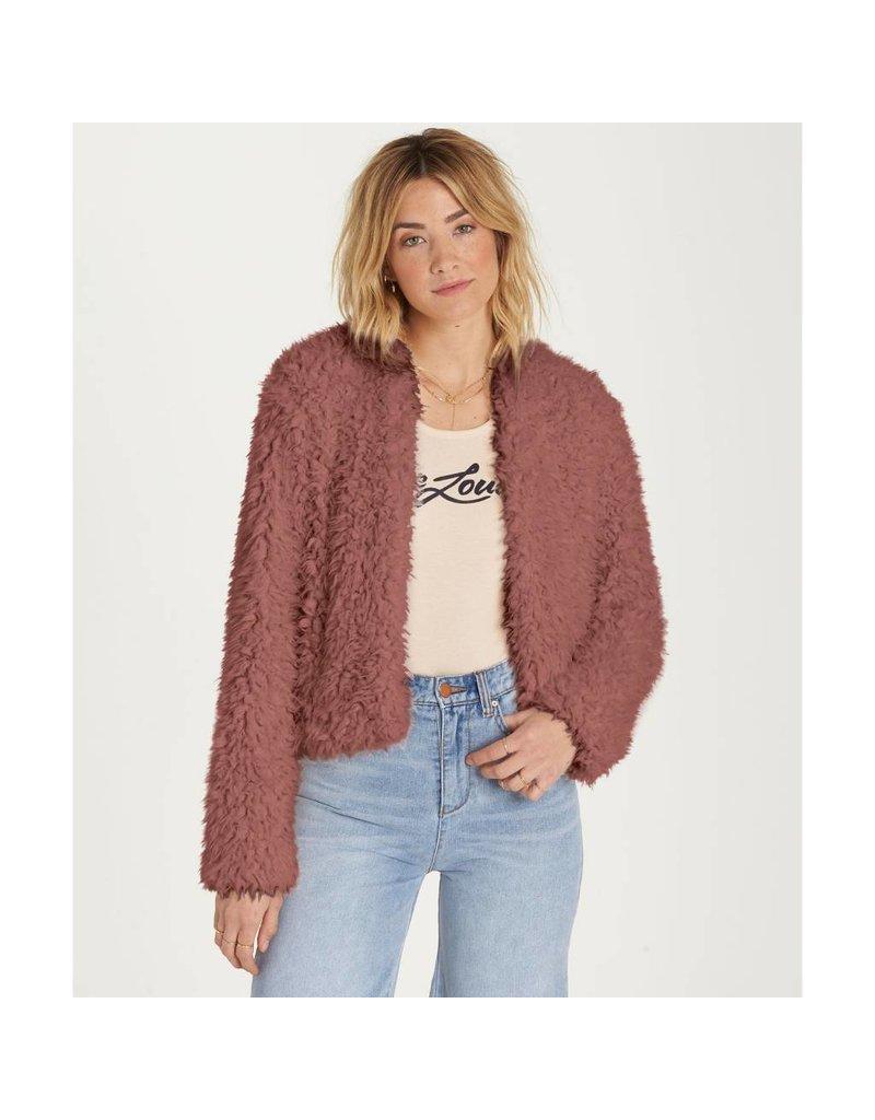 billabong billabong fur keeps jacket