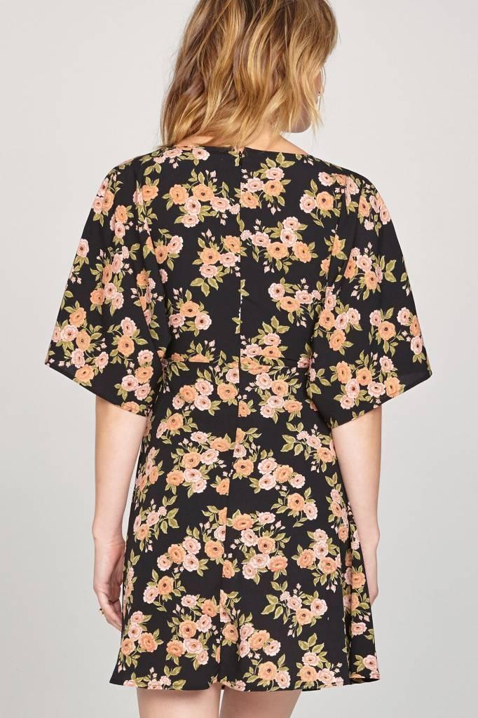 amuse society amuse society floral envy dress