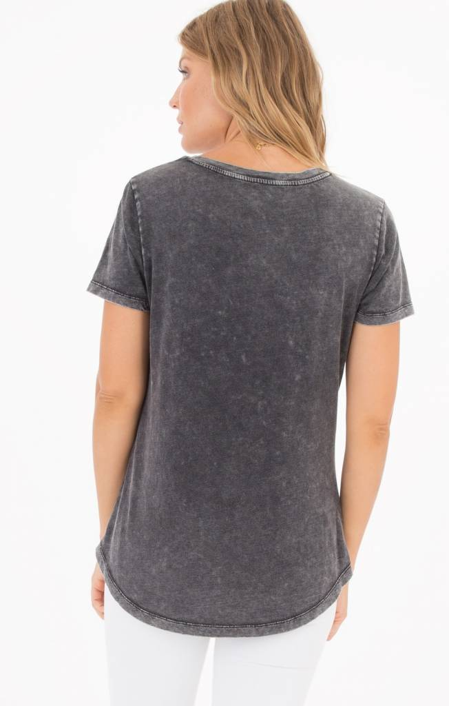 z supply z supply washed cotton pocket tee
