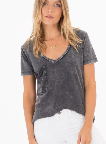 z supply washed cotton pocket tee