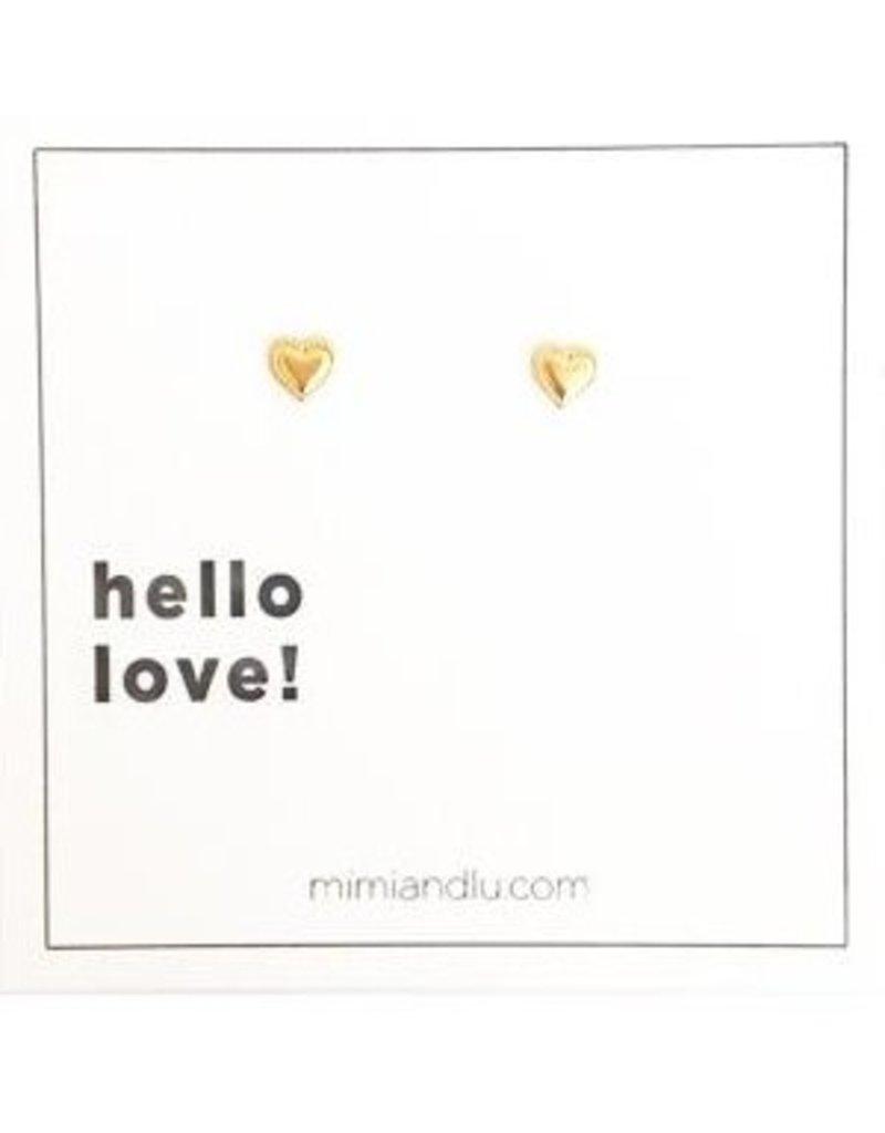mimi & lu mimi & lu stud earrings