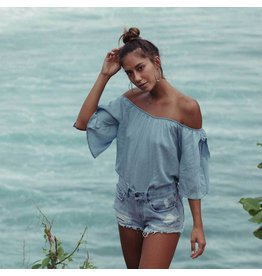 billabong blues baby chambray top