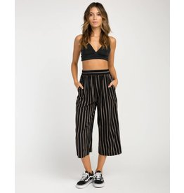 RVCA one eighty striped culotte