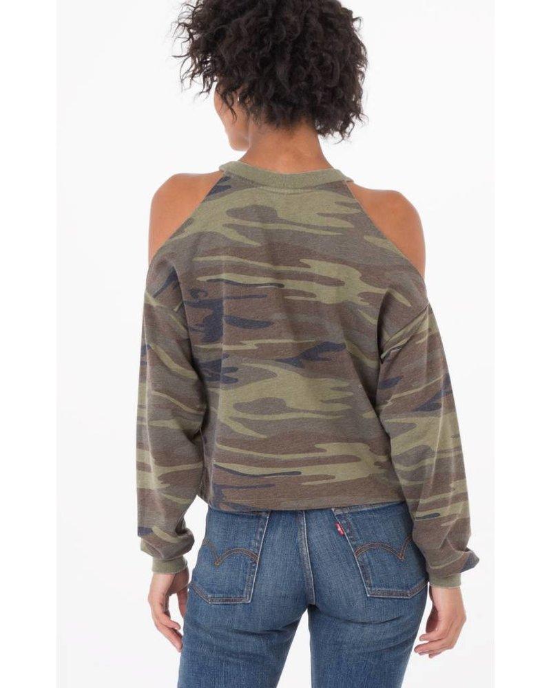 z supply z supply cropped pullover