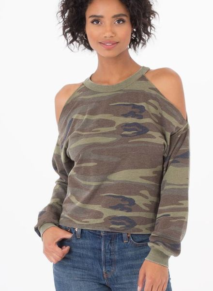 z supply cropped pullover
