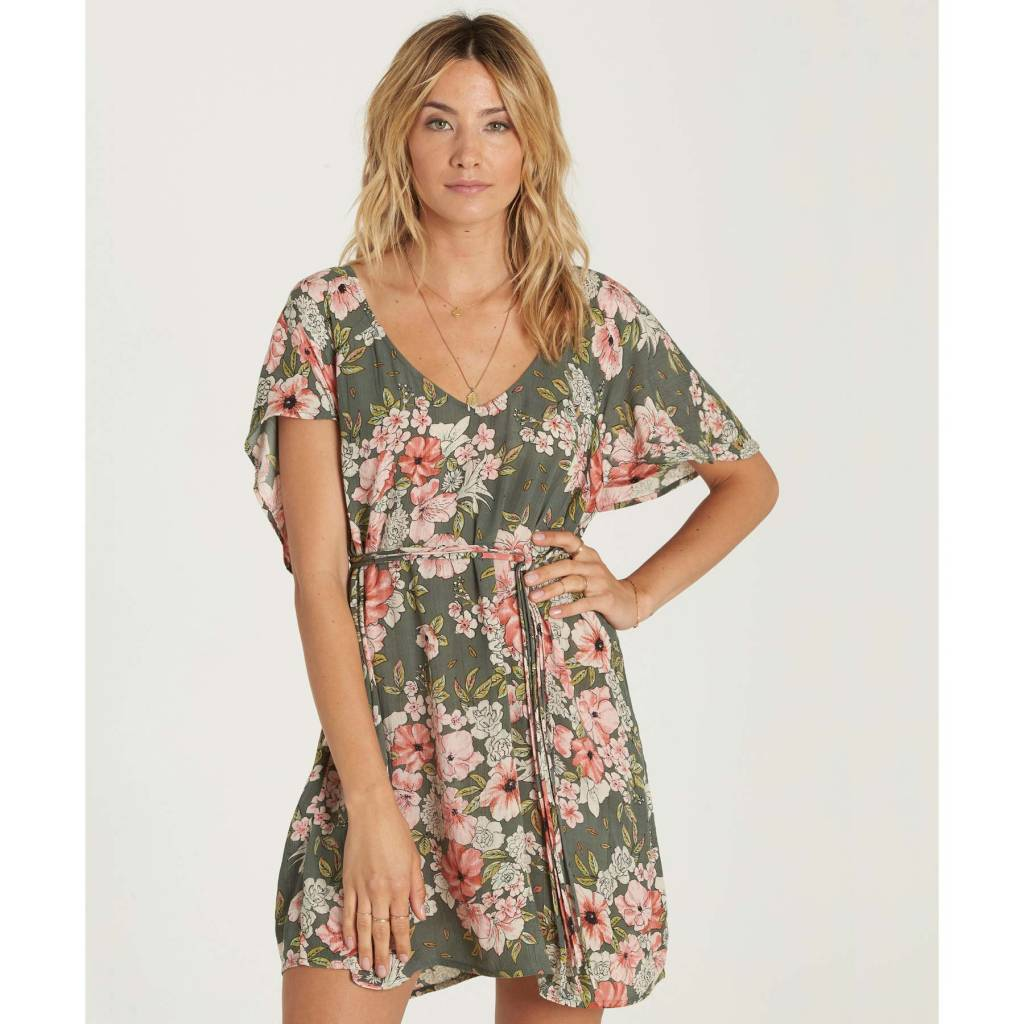 billabong billabong fine flutter dress