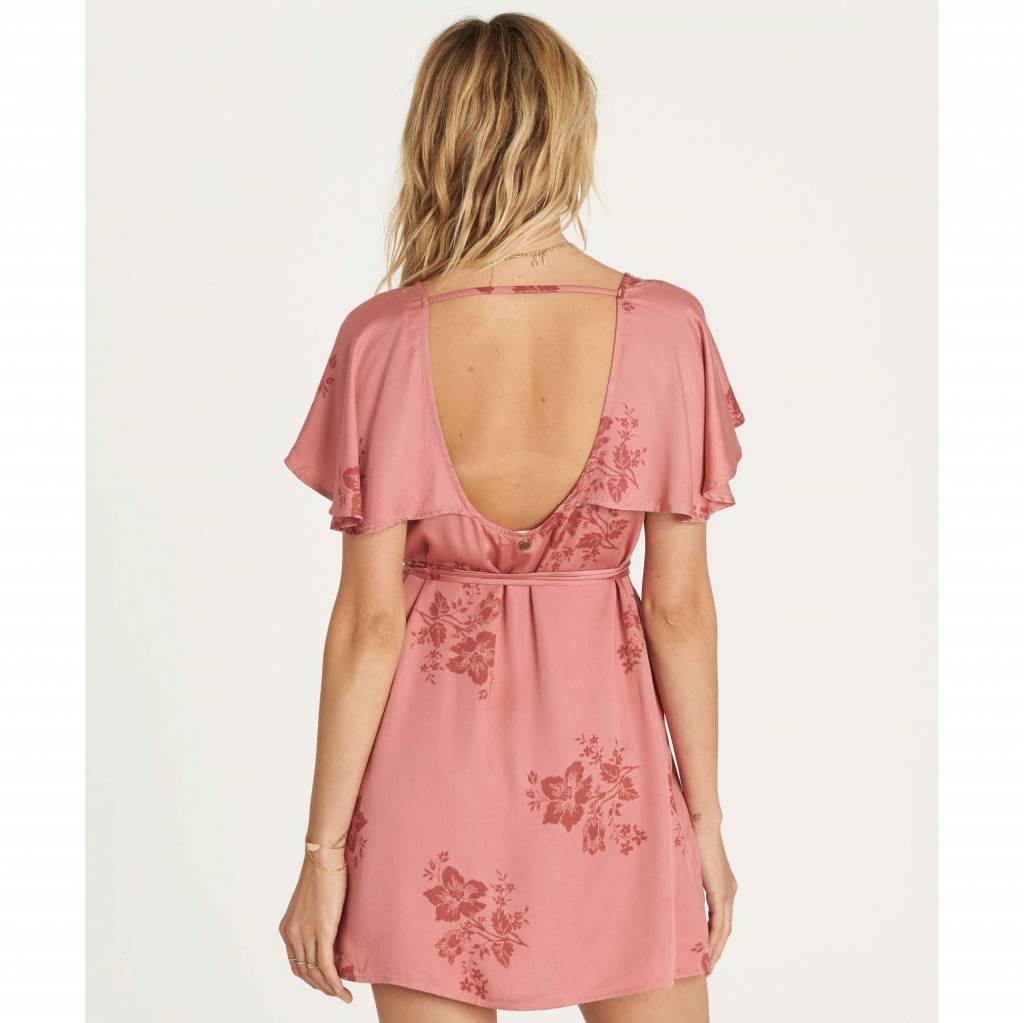 billabong billabong fine flutter dress