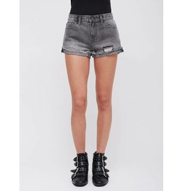 obey debs denim short