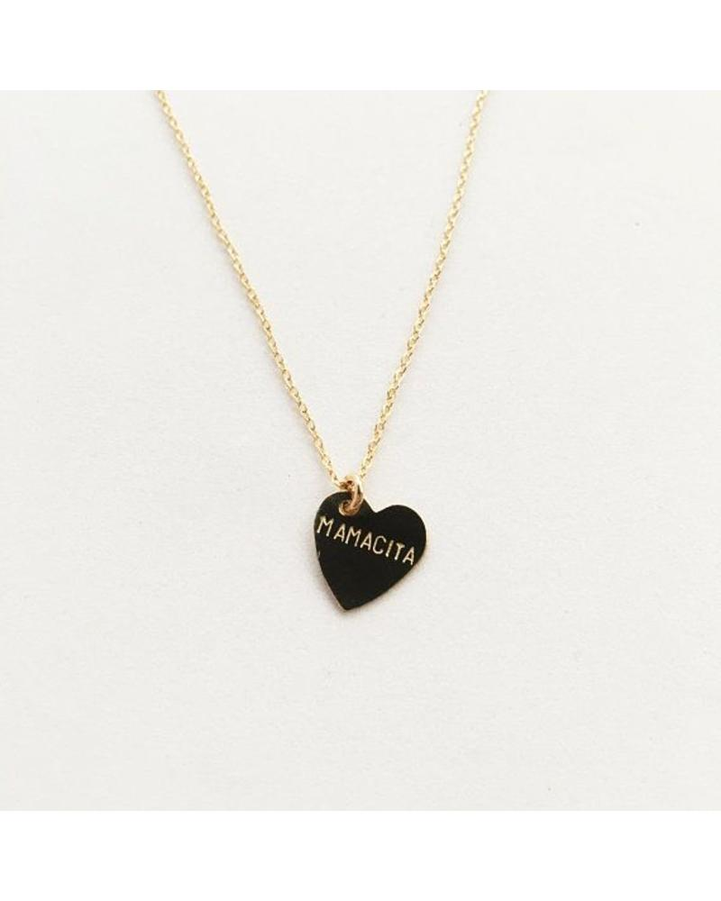 bunnies in la bunnies in LA mamacita heart necklace