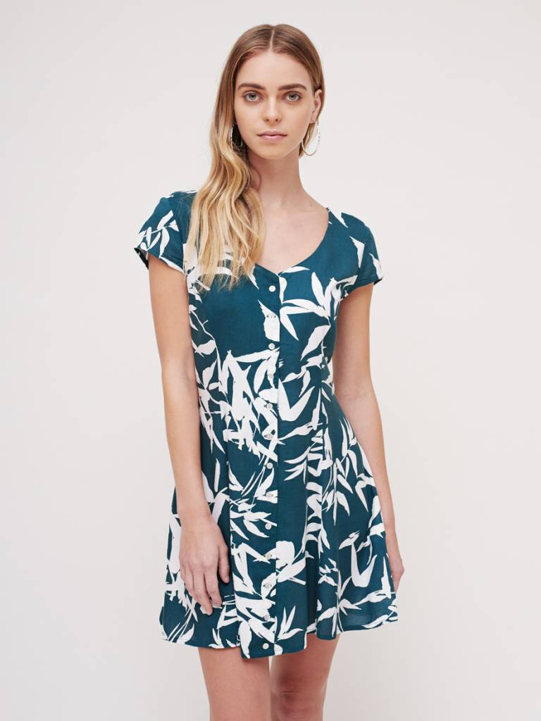 obey obey calico dress