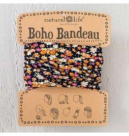 natural life navy pink boho bandeau