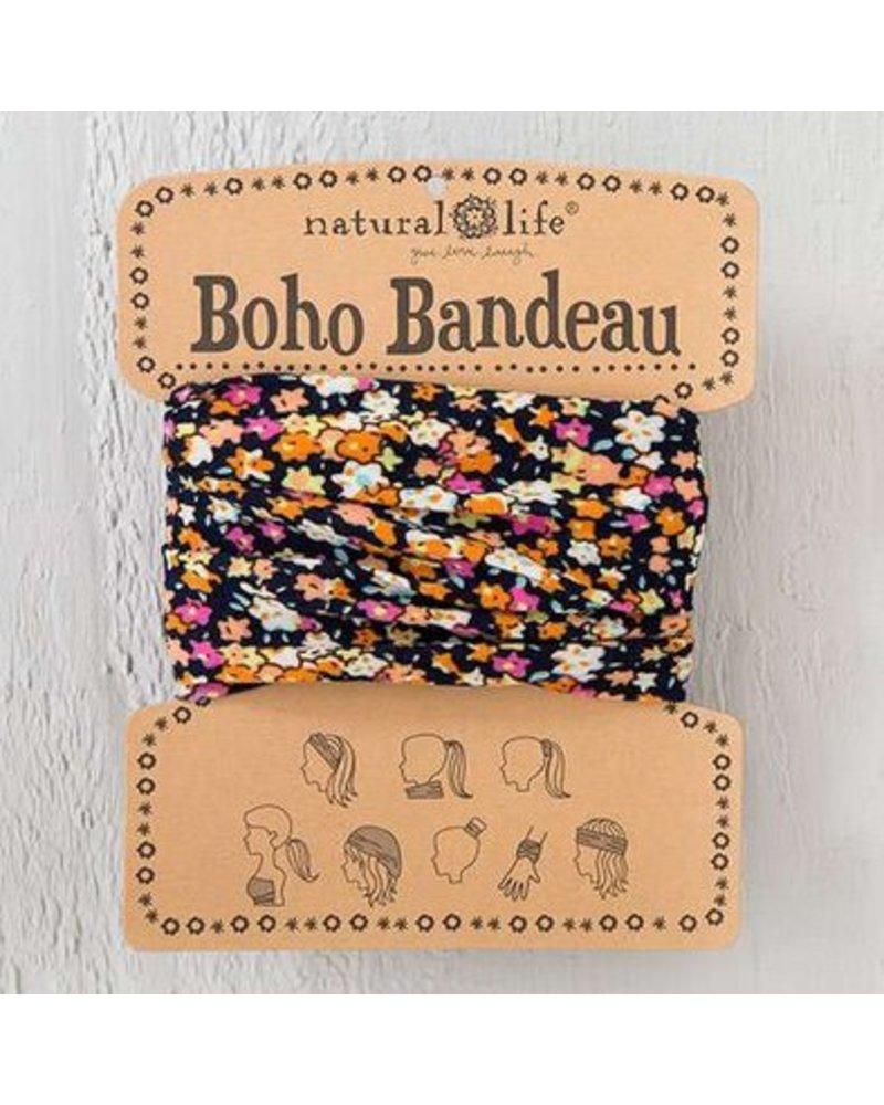 natural life natural life navy pink boho bandeau
