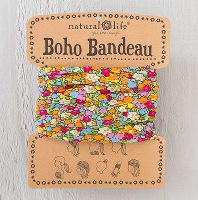 natural life natural life aqua pink boho bandeau