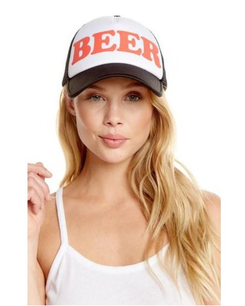 chaser chaser beer trucker hat