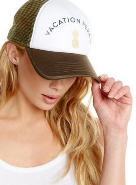 chaser vacation feels trucker hat