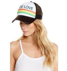 chaser one love trucker hat
