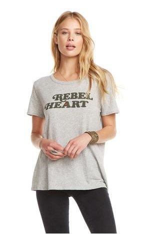 chaser chaser rebel heart tee
