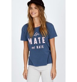 amuse society lets mate not hate tee