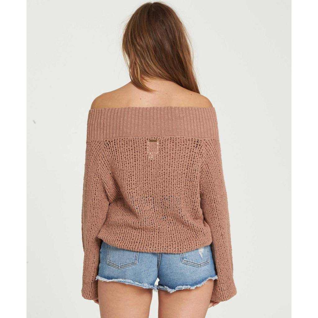 billabong billabong rolled up sweater