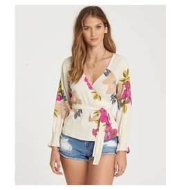 billabong daisy wrap top