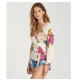 billabong billabong daisy wrap top