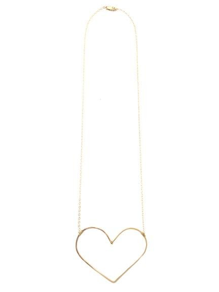 mimi & lu mimi & lu wild heart necklace