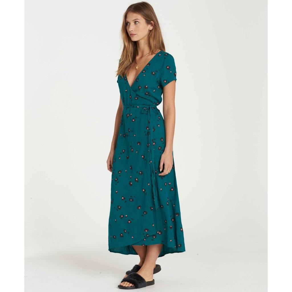 billabong billabong wrap me up dress