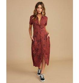 RVCA caper dress