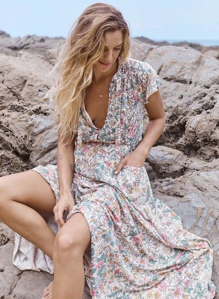 auguste the label spring rose wylde maxi