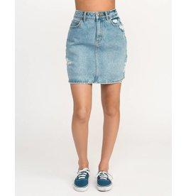 RVCA jolt denim skirt